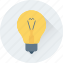 bulb, electric, electricity, illumination, light icon