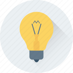 bulb, electric, electricity, illumination, light icon