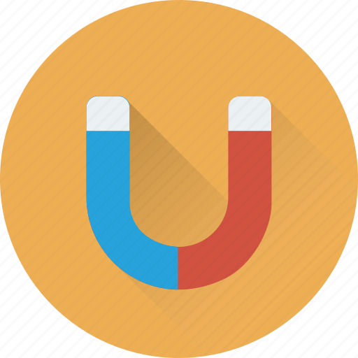 Attraction, horseshoe, magnet, physics, science icon - Download on Iconfinder