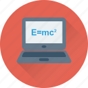 emc2, formula, physics, relativity, science icon