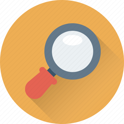 loupe, magnifier, scanning, search, zoom icon