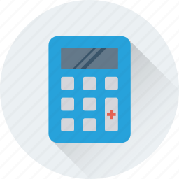 calculation, calculator, figuring, finance, mathematics icon