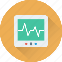 device, ecg, ecg machine, ekg, cardiology icon