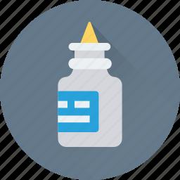 adhesive, bottle, glue, gum, stationery icon