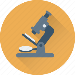experiment, lab, microscope, research, science icon