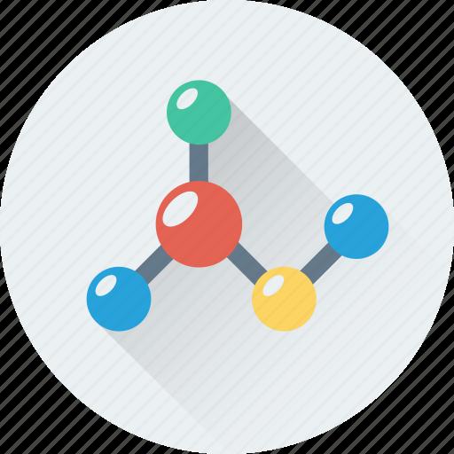 atom, bond, electron, molecular, science icon