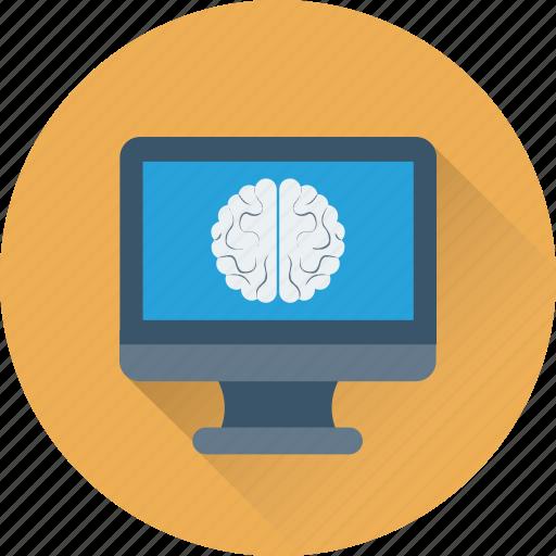 brain, brainstorming, creative, ctscan, organ icon