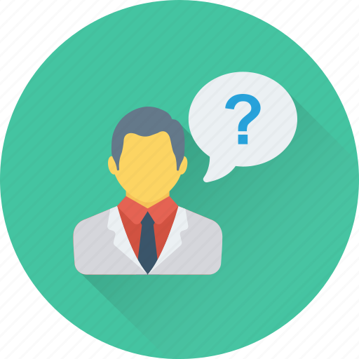 consultant, customer, help, questioner, support icon