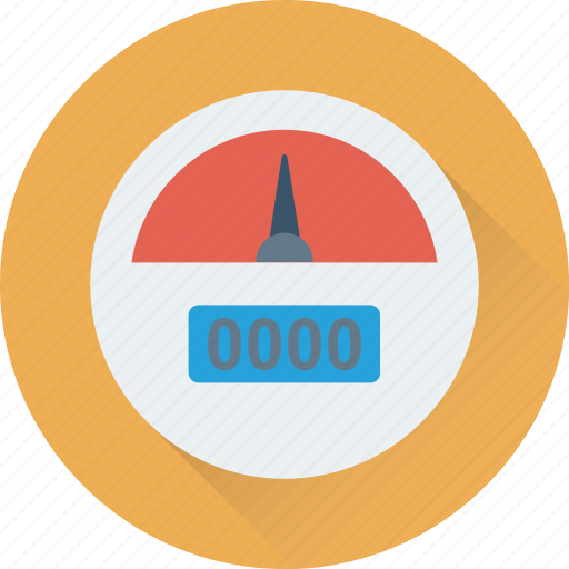 barometer, dashboard, gauge, indicator, speedometer icon