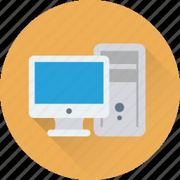computer, cpu, hardware, pc, pc tower icon