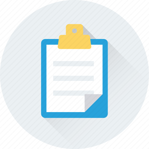 article, blog, clipboard, journal, notes icon