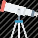 astronomy, dobsonian, planetarium, spyglass, telescope icon