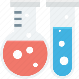chemical, flask, lab accessories, laboratory, test tube icon