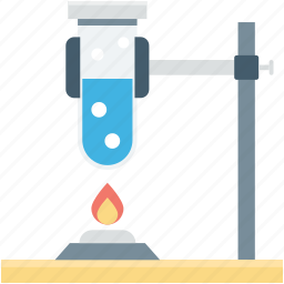 culture tube, lab accessories, sample tube, spirit lamp, test tube icon