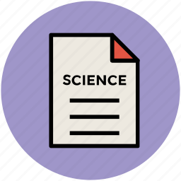 document, note, science article, sheet, text document, text sheet icon