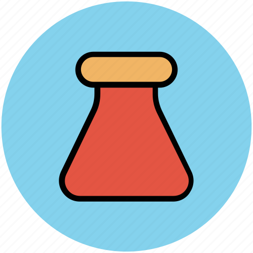 beaker, chemistry, flask, lab, lab glassware, laboratory equipment icon