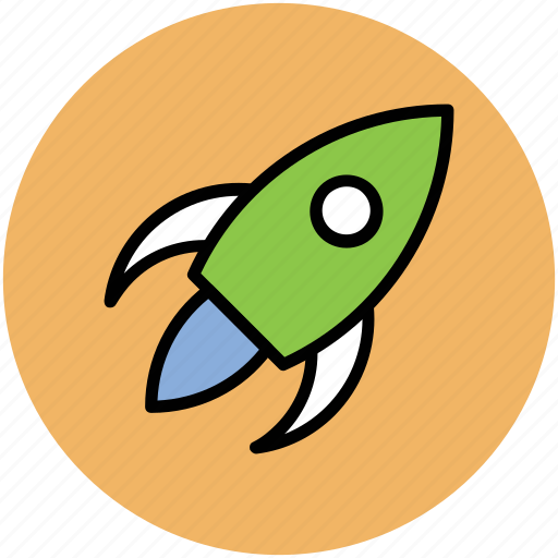 exploration, missile, rocket, science, space travel, spacecraft, spaceship icon