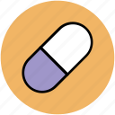 capsule, drug, healthcare, medication, medicine, pharmacy, prescription, rx icon