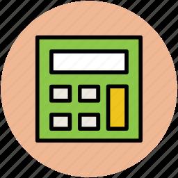 adding machine, calc, calculating machine, calculation, calculator, finance icon