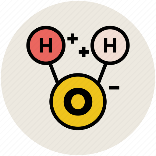 chemical, chemistry formula, propofol, scientific, water, water formula icon