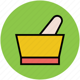 ayurveda, herbal medicine, medicine symbol, mortar, pestle, pharmacy, retro pharmacy icon