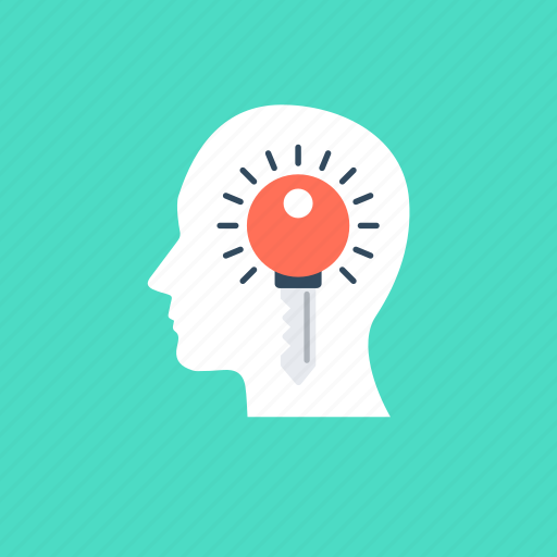 creative idea, creativity mind, innovative mind, intelligence, new ideas icon