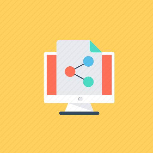 content sharing, data sharing, digital media marketing, information sharing, social media sharing icon