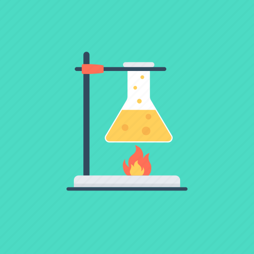 chemical, conical flask, flask, lab research, laboratory experiment icon