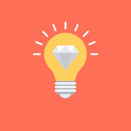brilliant idea, creative idea, creativity, imagination, innovative idea icon