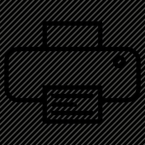 direction, marker, pin, print, printer icon