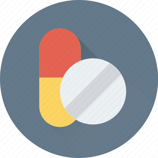 capsule, drugs, medicine, pills, tablet icon