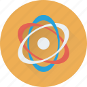 atom, atomic, electron, molecular, science icon