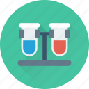 lab, laboratory, sample, test, test tube icon