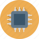 chip, memory, microprocessor, motherboard, processor icon