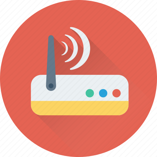 Booster, internet, modem, router, wlan icon - Download on Iconfinder