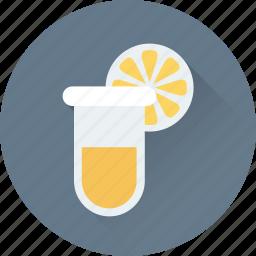 lab, laboratory, lemon, sample, tube icon