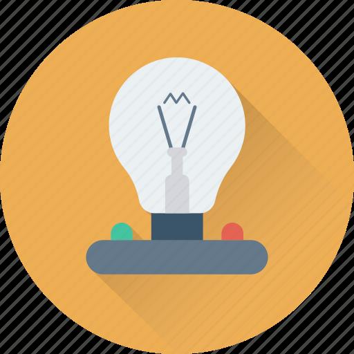 bulb, electricity, electronics, illumination, light icon