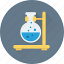 conical, experiment, flask, laboratory, test