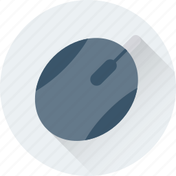 click, computer, device, mouse, pointer icon