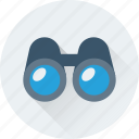 binocular, field glass, spyglass, view, zoom icon