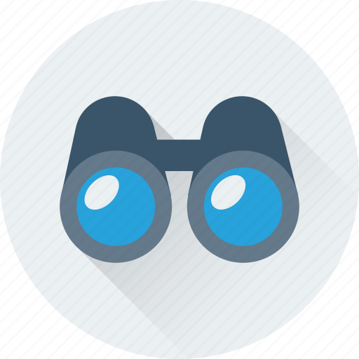 binocular, field glass, spyglass, view, zoom icon