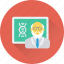 avatar, professor, researcher, scientist, teacher icon