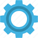 cogwheel, setting, gear, cog, gearwheel icon