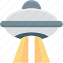 spacecraft, ufo, spaceship, alien ship, flying saucer icon