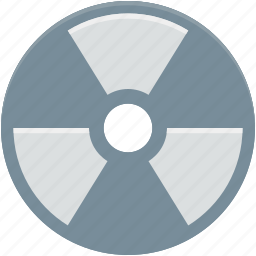danger, nuclear, radiation, radioactivity, toxic icon