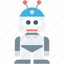 robotic machine, bionic robot, mechanical man, technology, robot icon