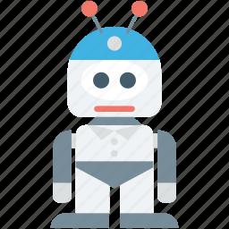 bionic robot, mechanical man, robot, robotic machine, technology icon