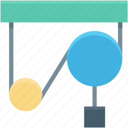 circuit, electric circuit, resistor, science, voltage icon