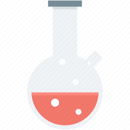 conical flask, elementary flask, flask, lab equipment, lab flask icon