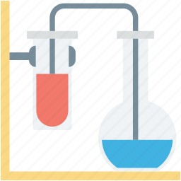 flask, lab experiment, lab research, sample tube, test tube icon